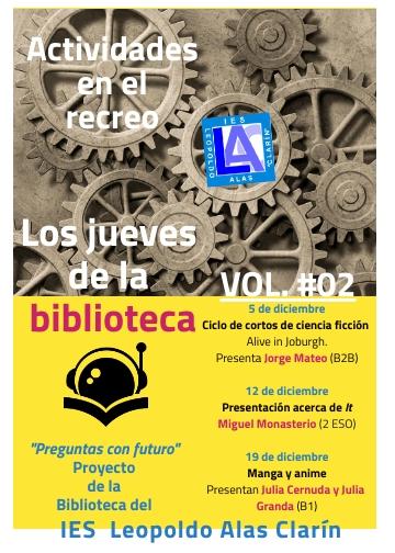 Jueves de la Biblioteca VOL 2