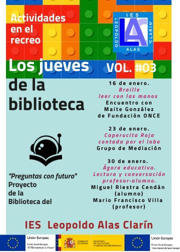Jueves de la Biblioteca VOL 3 (1)