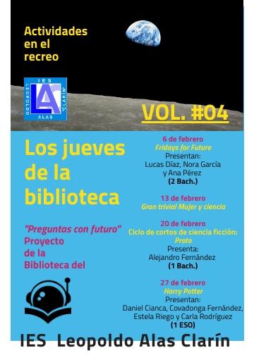 Jueves de la Biblioteca VOL 4